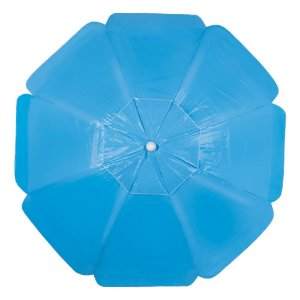 Guarda-Sol Alumínio Bagum PVC 2,00m Azul Claro - Mor