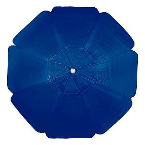 Guarda-Sol Alumínio Bagum PVC 2,00m Azul Escuro- Mor
