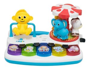 Teclado Musical Mini Zoologico Infantil BBR TOYS