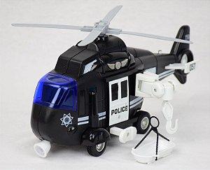 Helicóptero Resgate Vermelho - Bbr Toys