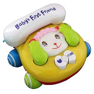 Telefone Baby Brincar (Ovelha) - Bbr Toys