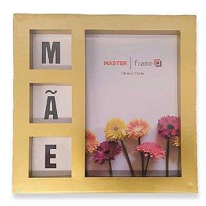 Porta Retrato 10x15 Mãe Dourado - Rio Master