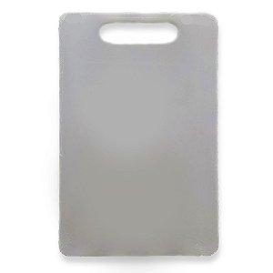 Tabua de Corte PVC Branca Multiuso 33x20 cm - Em Casa Tem