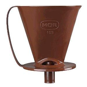 Suporte Marrom Para Coador De Café 103 Mor