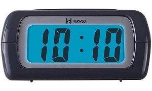 Despertador Digital Cinza 2981-024  Herweg