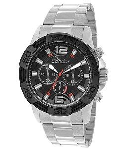 Relógio Condor Masculino Prata - COVD54AB3P