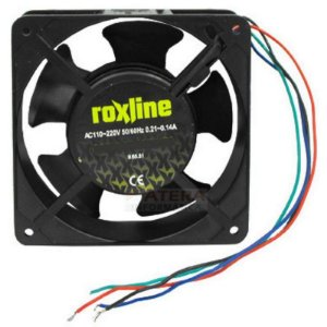 Micro Ventilador Cooler s/ Rolamento Bivolt 50-60hz 0.21A 0.14A - Roxline