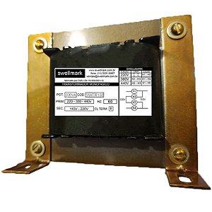 Transformador  Monofásico de Comando Universal  220V/380V/440V X 110V/220V 200VA