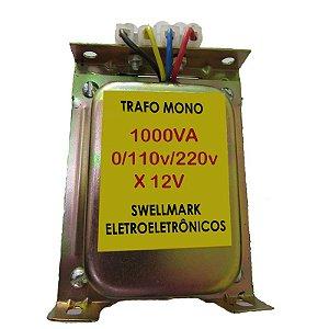 Transformador 110V/220V X 12VAC 750wts