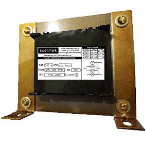 Transformador  Monofásico de Comando Universal  220V/380V/440V X 110V/220V 300VA
