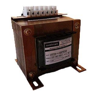 Transformador Monofásico de Comando 220V/380V/440V X 24V 200VA