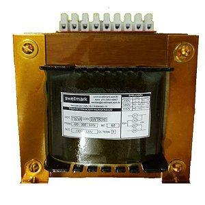 Transformador Monofásico de Comando Universal 220V/380V/440V X 110V/220V 750VA