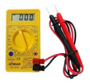 Multímetro Digital com Aviso Sonoro Xtrad XT-573 =830B