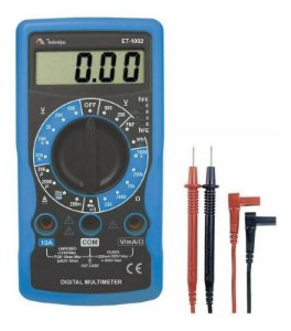 Multímetro Digital 3.1/2 Dígitos 10A ET-1002 Minipa
