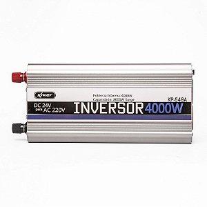 Inversor Conversor Veicular C/ potencia 4000W 24V P/ 220V  KP-548A - KNUP