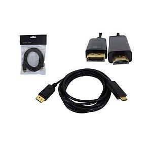 Cabo Display Port Macho Para HDMI Macho 1.80mts