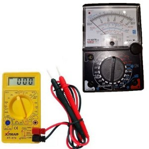 Kit Multimetros Digital XTRAD-XT573 e Analogico YX-360TRNL