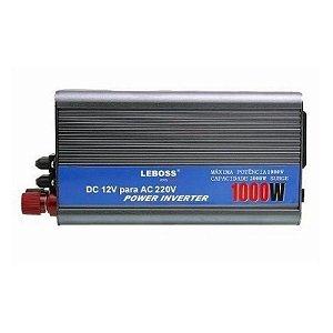 Inversor conversor Veicular C/ potência 1000W 12V P/ 220V - LEBOSS