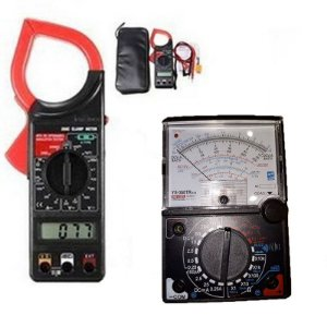 Kit Alicate  Amperímetro DT266 + Multímetro Analógico  YX-360TRNL