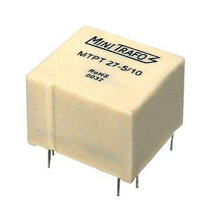 Mini Trafo de Pulso MTPT 27-5/10 Usados para Disparos de Tiristores e Triacs
