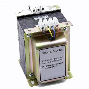 Transformador de Comando Monofásico 220V/380V/440V x 110V/220V 1kva = 750w