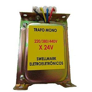 Transformador de Comando 220/380/440V x 24V 150VA