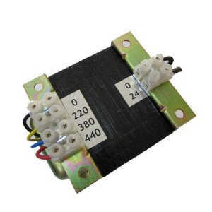 Transformador de Comando 220V/380V/440V X 24V 100VA =75wts