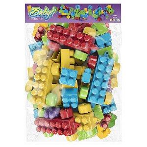 Blocos para montar Baby - 65 Blocos