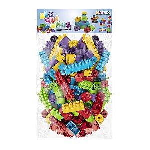 Bloquinhos para montar Educativo - 140 peças