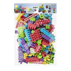 Bloquinhos para montar Educativo - 280 peças