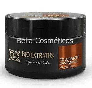 Máscara Colorante Castanho Bio Extratus - 250g