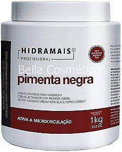 Creme Termoativado Pimenta Negra Hidramais - 1kg