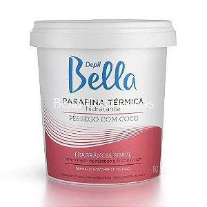 Parafina Térmica Hidratante Pêssego com Coco Depil Bella - 350g