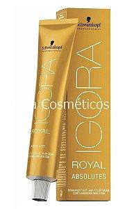 Igora Royal Absolutes Permanent Color Creme Schwarzkopf - 60g