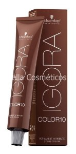 Igora Color 10 Permanent Color Creme Schwarzkopf - 60g