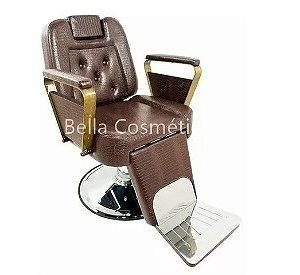 Cadeira para Barbeiro Urano Dakota Reclinável * R$2635,00*