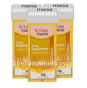 Caixa c/ 48 Ceras Rollon Depilatória Depi Mania - 100g