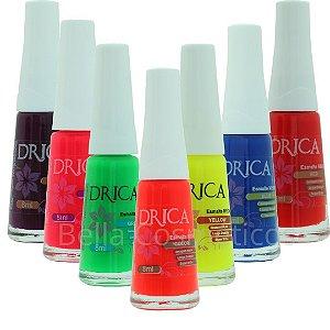 Kit Neon Club Drica Esmaltes - 7 esmaltes