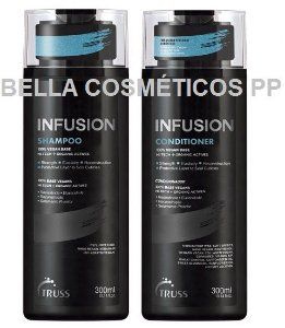 KIT TRUSS INFUSION SHAMPOO 300ML + CONDICIONADOR 300ML
