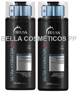 KIT TRUSS ULTRA HYDRATION PLUS SHAMPOO 300ML + CONDICIONADOR 300ML