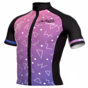 Camisa de Ciclismo Oggi Tour Labelle Manga Curta