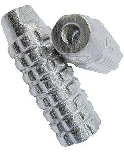 Apoio Trolhinha Alumínio Natural