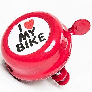 """Campainha """"I Love My Bike"""""""