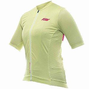 Camisa de Ciclismo Feminina ASW Endurance Streak Menta