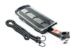 Bagageiro Traseiro 26 H-AL10 Alumínio-Plástico Preto com Blocagem