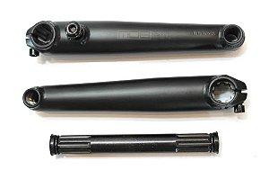 Pedivela 3 Peças Mob Bone Cr-Mo 19x175mm Preto