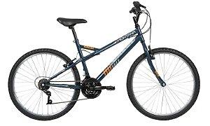 Bicicleta Aro 26 Caloi Montana Chumbo