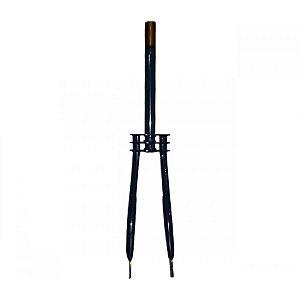 Garfo 20 Carga Reforçado Tipo Antigo Aço Azul