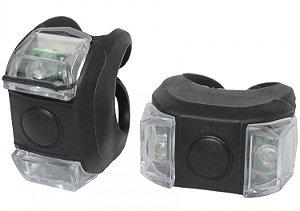 Vista Light Silicone Dianteiro e Traseiro MaxxSporting