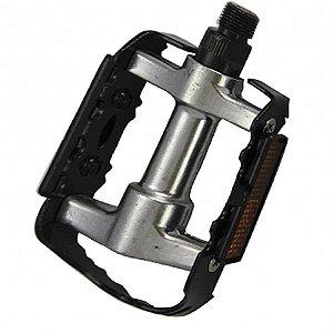 Pedal Alumínio MTB 9/16 Feimin Inglês Preto
